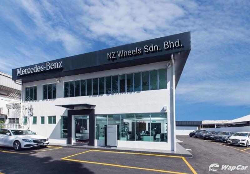 NZ Wheels Setapak showroom