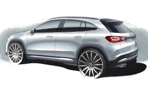 Mercedes-Benz tweeted a tease for the all-new Mercedes-Benz GLA