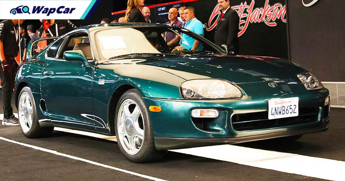 Forget Paul Walker's Toyota Supra, someone got a steal for this RM 365k JZA80 Supra! 01