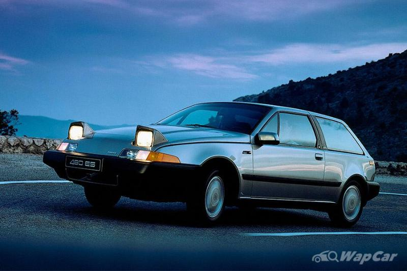 Volvo 480 – a Volvo with pop-up lights & doesn't look like a brick 02