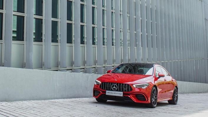 2020 Mercedes-Benz AMG CLA 45 S Exterior 001