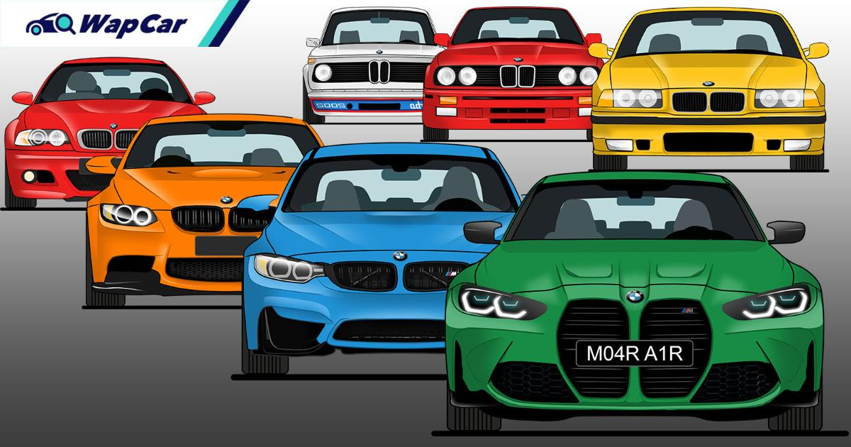 Evolution of the BMW M3 – M Power or AMG? 01