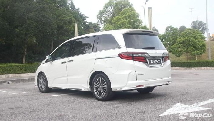 2018 Honda Odyssey 2.4 EXV Exterior 008