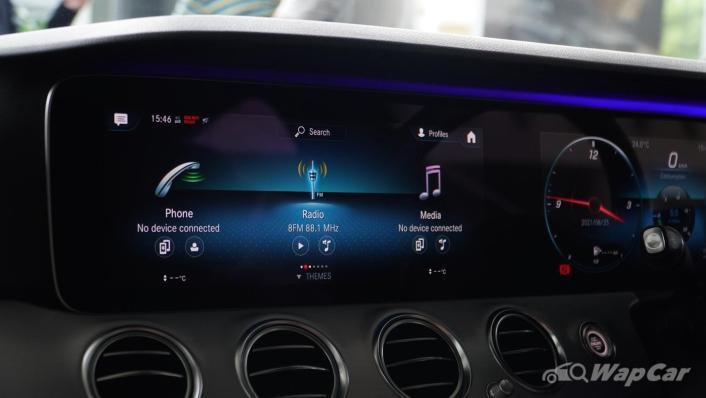2021 Mercedes-Benz E-Class E200 Avantgarde Interior 010
