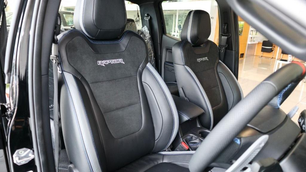 2019 Ford Ranger Raptor 2.0L 4X4 High Rdier Interior 027