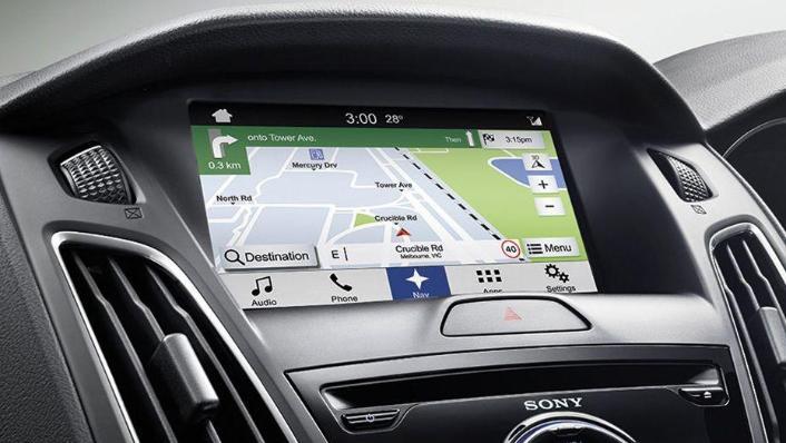 Ford Focus Sedan (2017) Interior 004