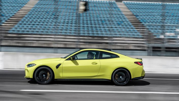 2021 BMW M4 Competition Coupe Exterior 007