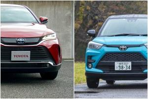 Toyota Raize and Harrier dominates Japan's 2020 new car sales