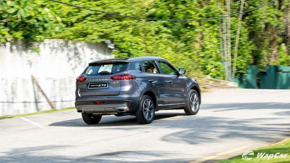 2020 Proton X70 1.8 Premium 2WD Exterior 016