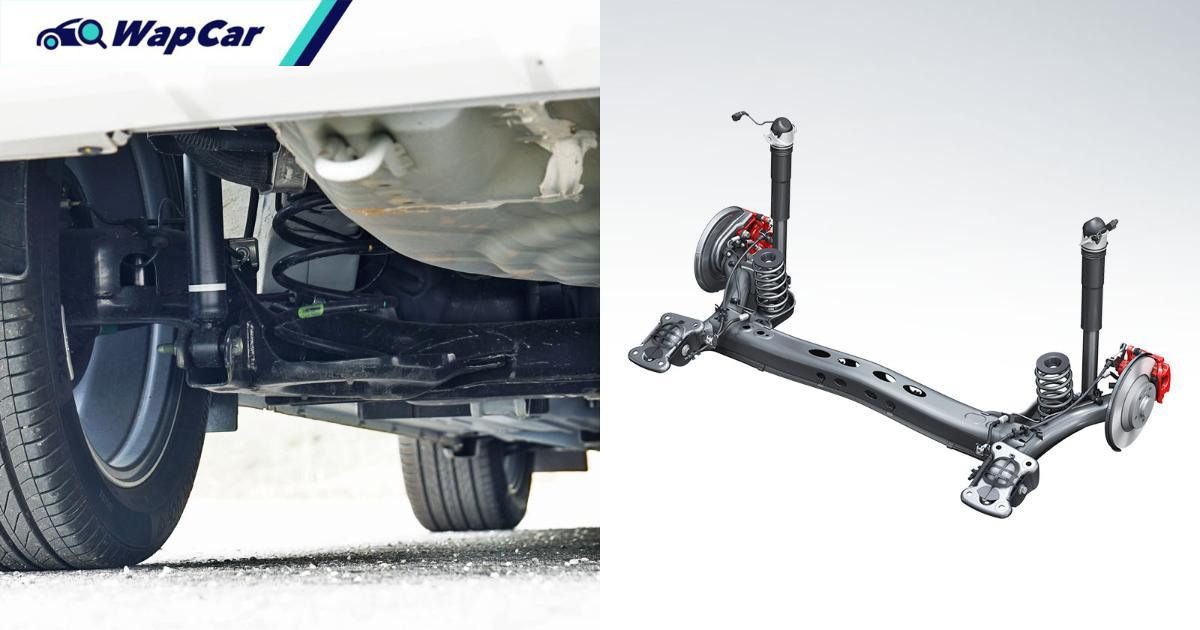 Is it true that cars with torsion beam suspensions are inferior? 01