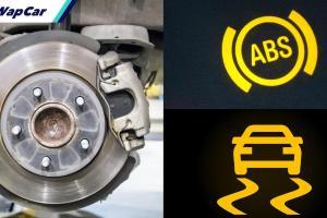 Kenapa lampu ABS saya menyala? Apa pula penderia kelajuan roda?