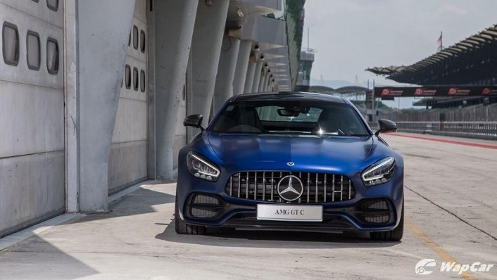 2019 Mercedes-Benz AMG GT C Exterior 005