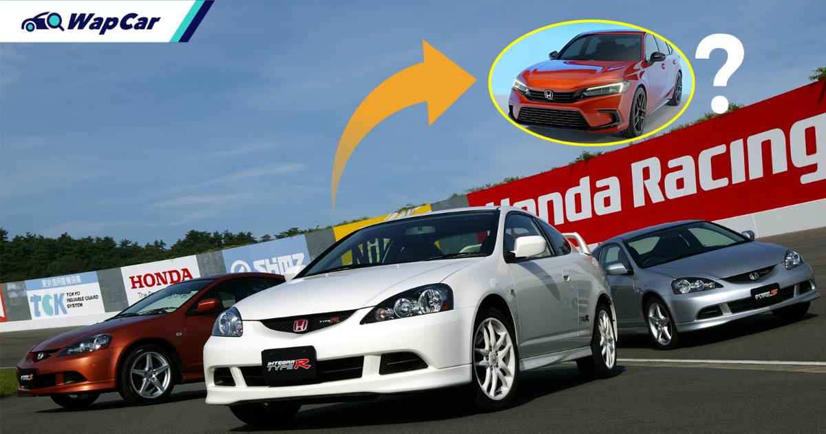 Honda Integra set to return this year - except it'll just be another Civic 01