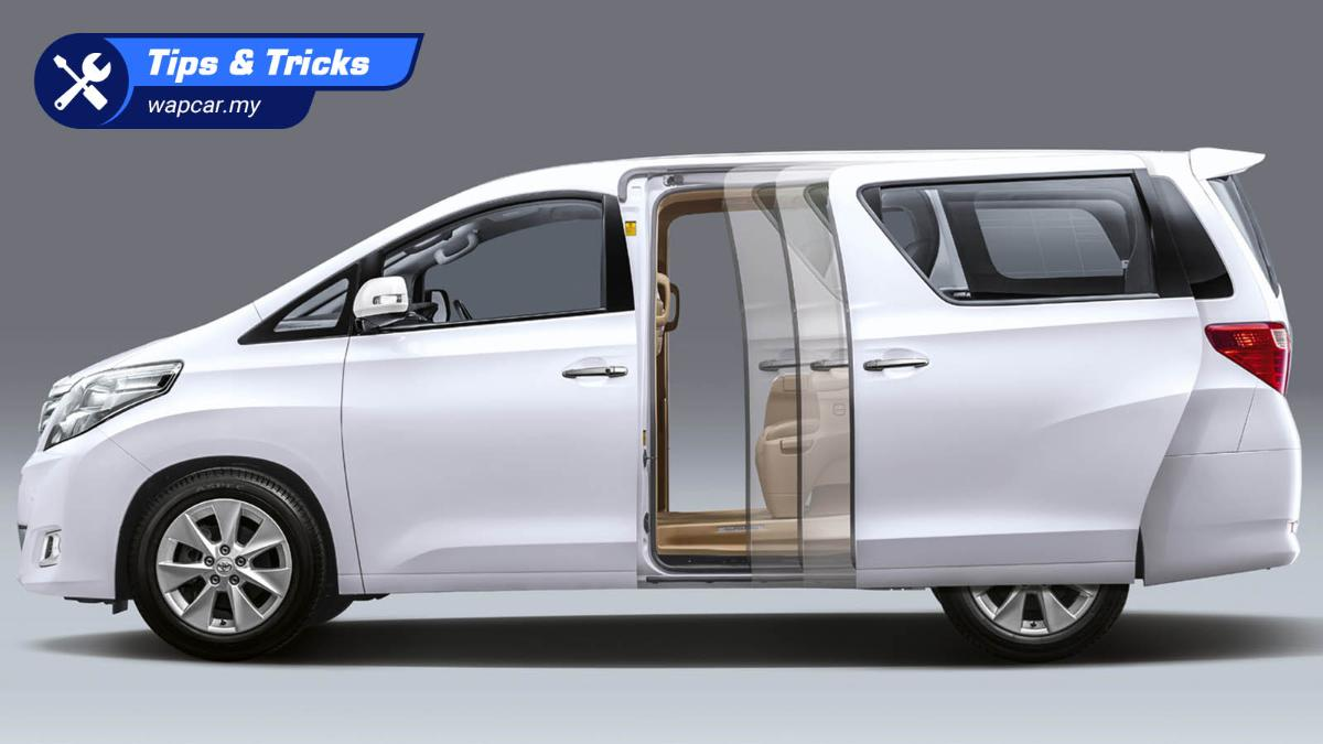 My MPV sliding doors are not working, what is the problem? 01