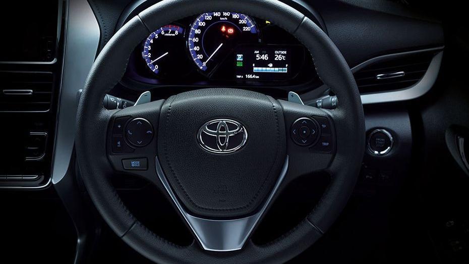 Toyota Vios (2019) Interior 001