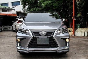 This Lexus-inspired Innova sure looks INNOVA-tive!