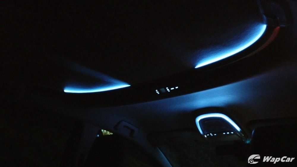 2017 Toyota Innova interior ambient lights