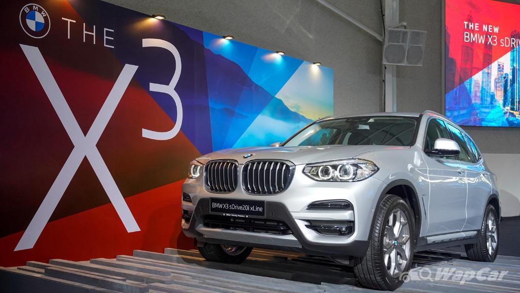 2021 BMW X3 sDrive20i Exterior 004
