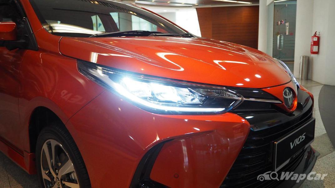 2021 Toyota Vios 1.5G Exterior 008