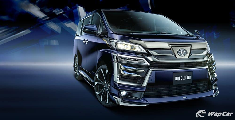 Toyota Vellfire gets 'Goldeneye' treatment, Alphard gets gold badge – coming soon at your local recond dealer? 01