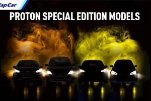Pelancaran 'Special Edition' buat Proton Saga, Persona, Iriz, dan Exora pada 18 Februari 2021!