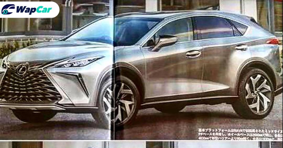 Lexus Teases All-New 2022 NX Ahead Of June 11 Debut