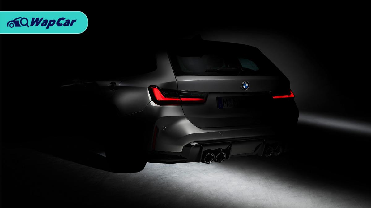 BMW teases first ever M3 Touring – to be launched in 2022? 01