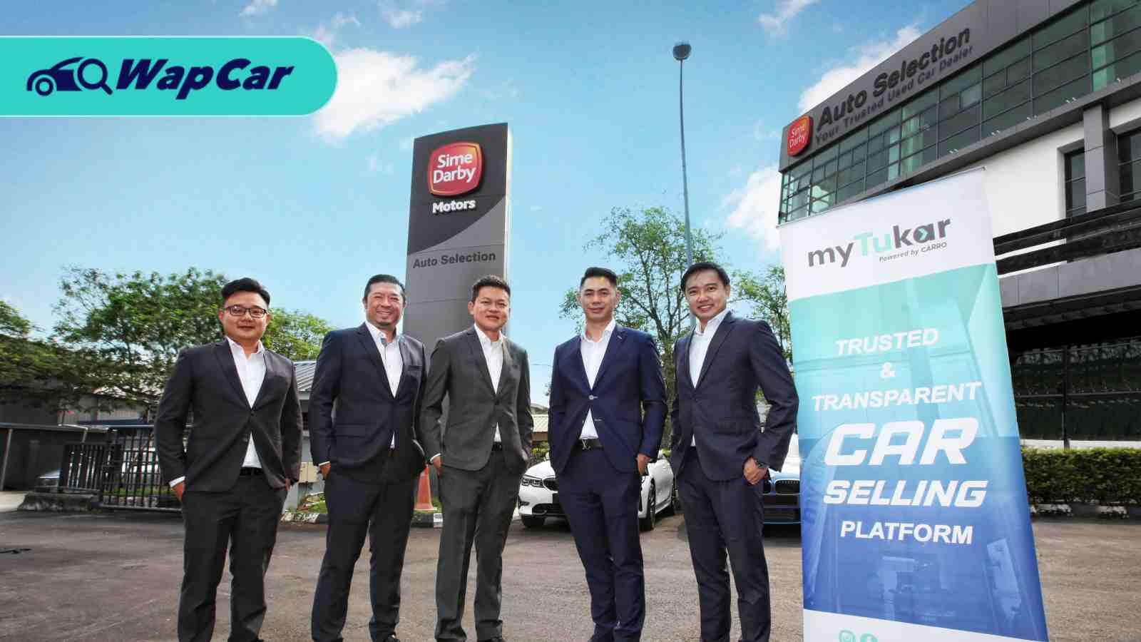 Sime Darby's pre-owned car subsidiary teams up with myTukar 01