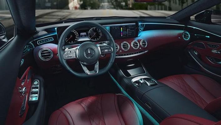 Mercedes-Benz S-Class Cabriolet (2018) Interior 001