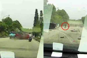 Myvi driver's attempts to flee high-speed car crash foiled by witnesses