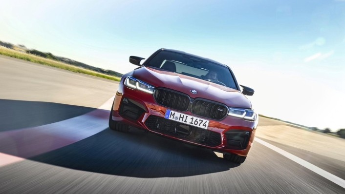 2020 BMW M5 Exterior 004