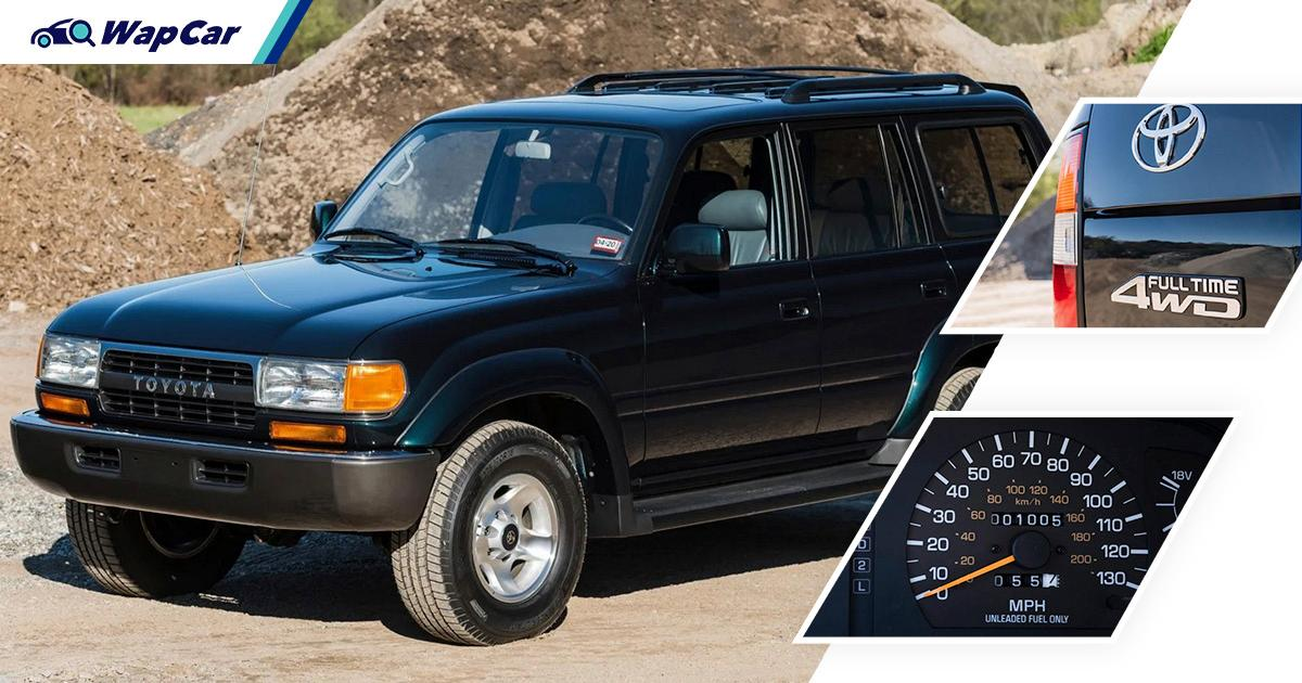 Someone paid RM 500k for this 27-year-old Toyota Land Cruiser 80 'Ninja Turtle'! 01