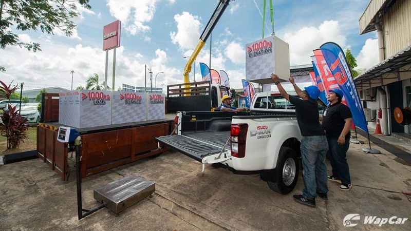 Isuzu D-Max's 1.9L Blue Power engine shows its prowess in a 1,000 km/1-tonne/1 tank fuel economy challenge 02