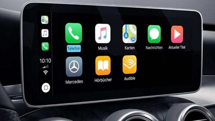 Mercedes-Benz C-Class Coupe (2019) Interior 003