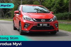 Potong Stim: Perodua Myvi – Memang berbaloi-baloi, tapi tempat duduk tak selesa