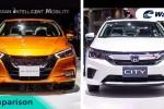Perbandingan Honda City baru dengan Nissan Almera baru. Bakal dilancarkan di Malaysia tahun 2021?