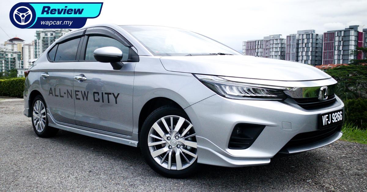 Quick Review: 2020 Honda City 1.5L V - good choice for a zippy family car 01