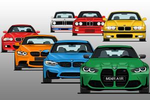 Evolution of the BMW M3 – M Power or AMG?