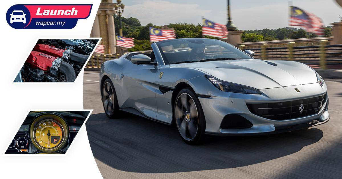 The 2021 Ferrari Portofino M - for your V8-powered Malaysian road trip, priced from RM 998k 01