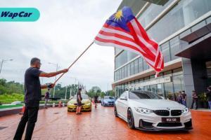 BMW Malaysia menyambut Hari Malaysia dengan pemilik ///M