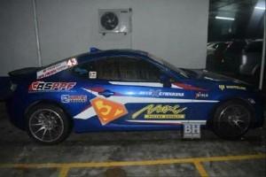 Subaru BRZ drifter at Petronas station arrested!