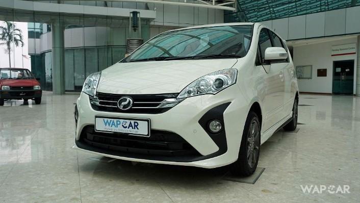 2018 Perodua Alza 1.5 AV AT Exterior 001