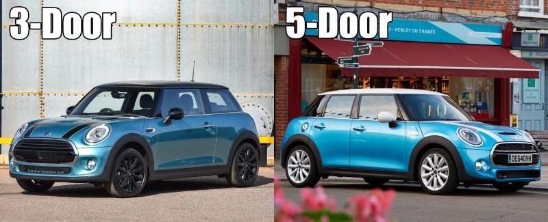 MINI Cooper 3-door and 5-door