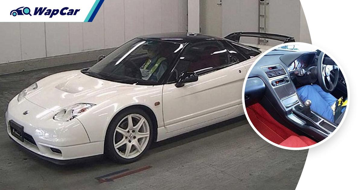 This rare Honda NSX-R can be yours if you have at least RM 1.7 million 01