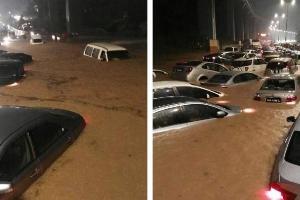 Jangan memandu dalam banjir dengan penghawa dingin terbuka. Ini sebabnya.