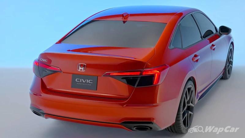 全新款2021 Honda Civic公布,大马将提前发售! 02