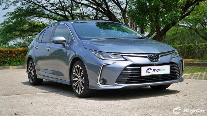 2019 Toyota Corolla Altis 1.8G Exterior 002