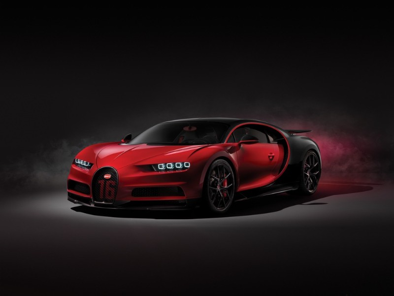 Bugatti Chiron Sport front