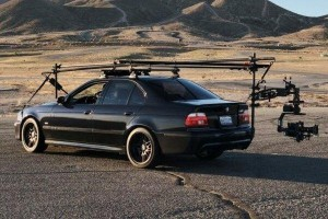 Remember this BMW M5 chasing down a land speed record car ad? It has come to life!