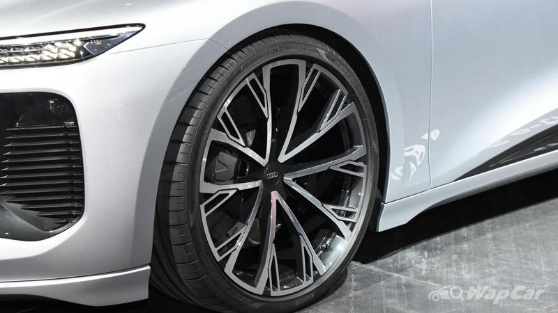 Built on evolved Taycan platform, Audi A6 e-tron concept debuts at 2021 Shanghai Auto Show 02